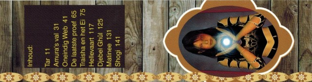 Traisha en het Ei - boekenlegger - horizontaal
